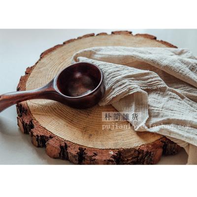 朴简 日式棉麻复古餐巾茶巾 桌布餐垫隔热垫美食摆拍背景布2018