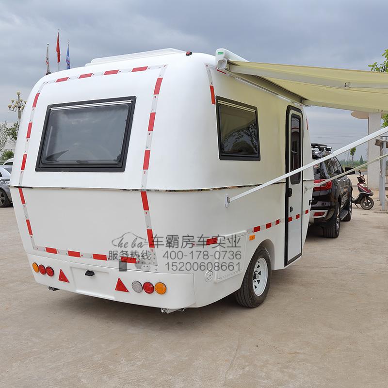 车霸小霸王移动牵引拖挂式房车微型旅行露营小型房车旅居车
