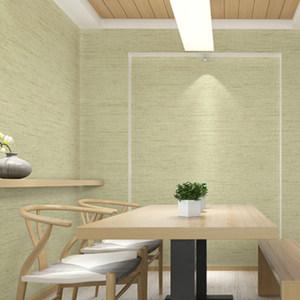 玉兰现代简约无缝墙布墙纸 北欧风格壁布客厅卧室电视背景墙言麻