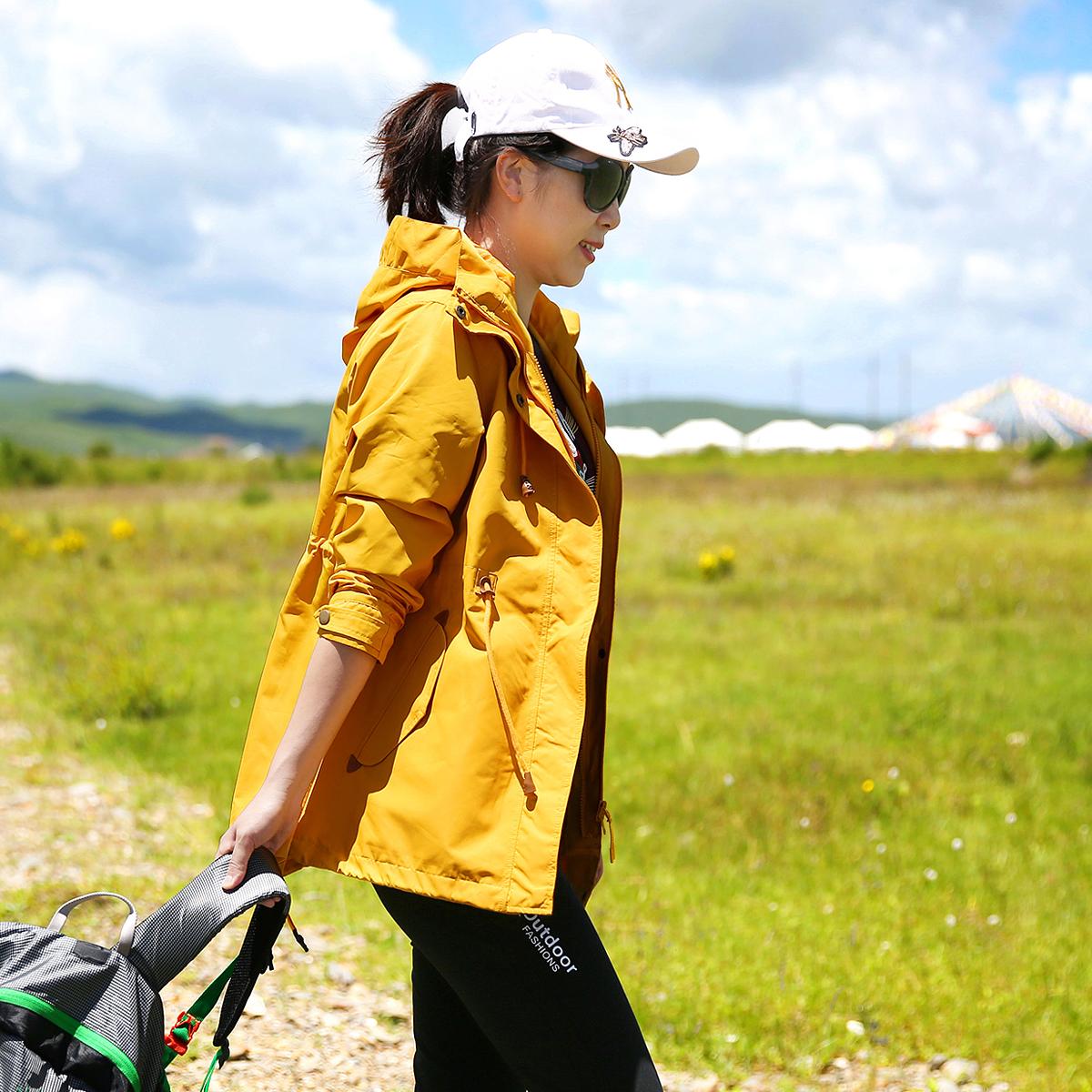 雪丘岛 秋冬新品冲锋衣三合一可拆卸抓绒内胆防风防泼水外套女  2020
