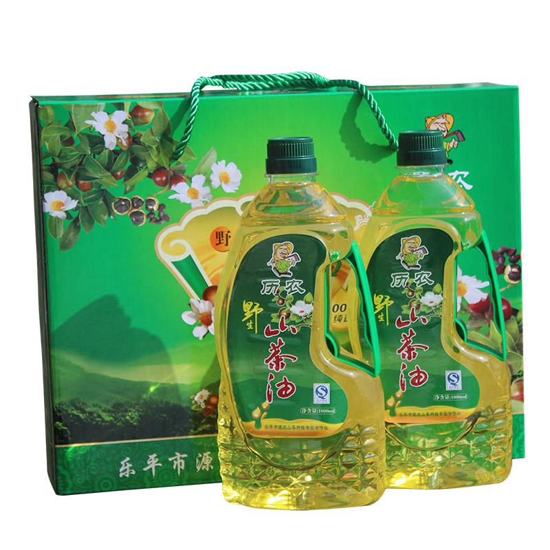 历农野生山茶油1000ml江西纯正茶油婴儿茶籽油高山食用油农家自榨