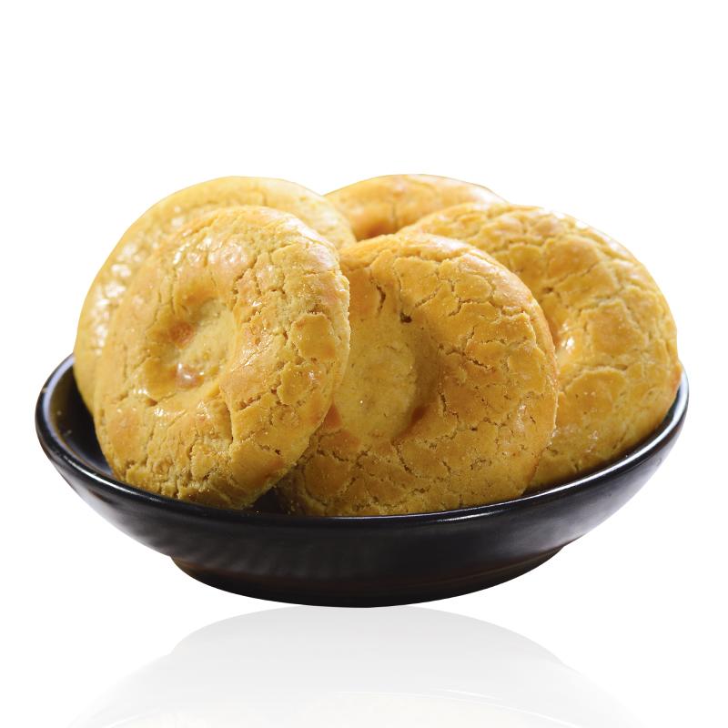 无蔗糖木糖醇燕麦酥饼干无糖精食品糖人小零食血糖中老年