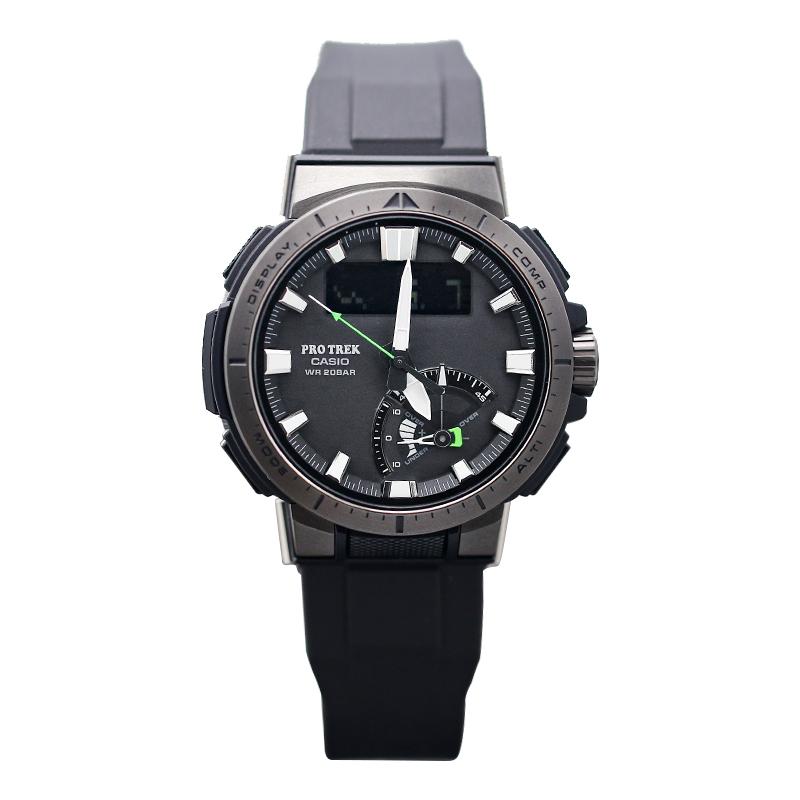 太阳能电波登山男表 1B 7000FC 7 YT 1 70Y PRW PROTREK 卡西欧手表