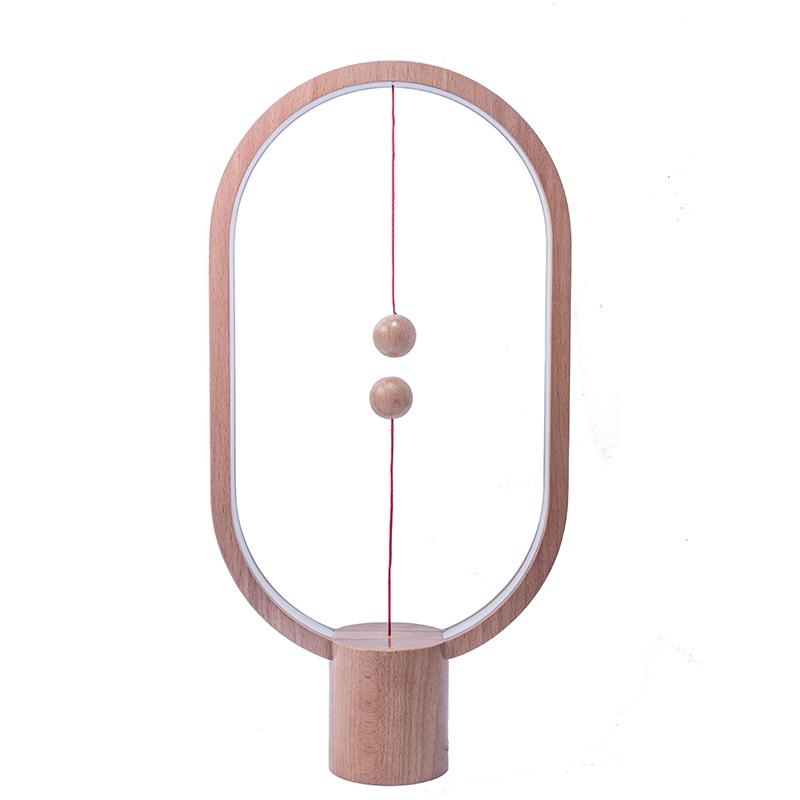 悬浮台灯送女友七夕礼物抖音同款 LED 衡家居生活智能平衡磁吸开关