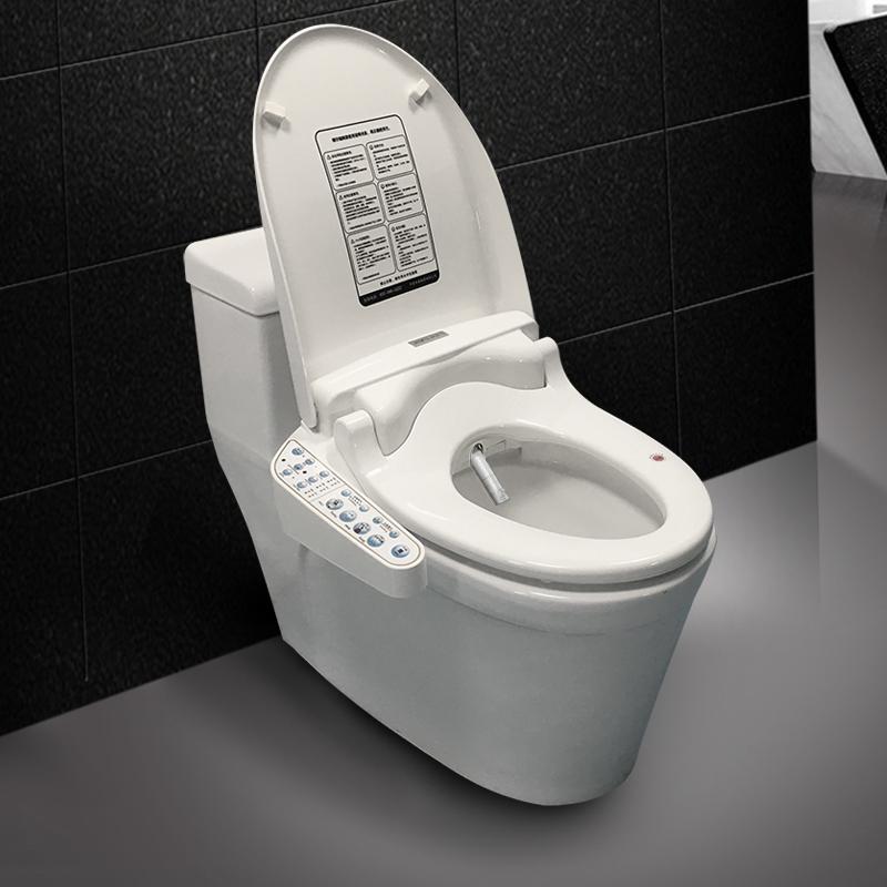 智能馬桶蓋即熱混合式全自動多功能家用沖洗烘干坐便器蓋板 kerde