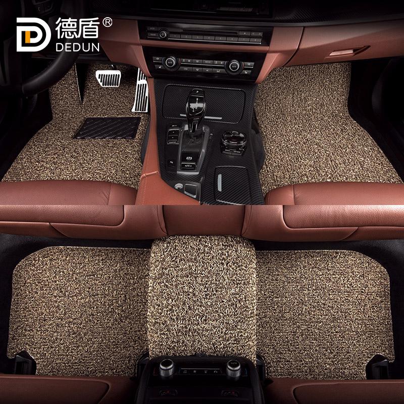 丝圈脚垫汽车A4L奥迪A3 A6L Q5L Q3 X3宝马3系5系X1新款奔驰C200L