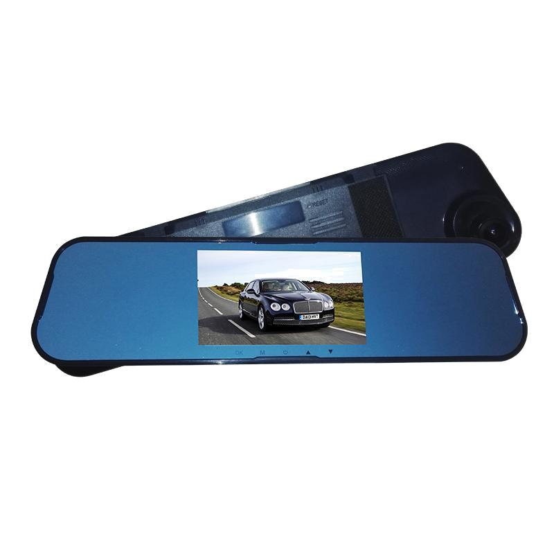 后视镜行车记录仪单双镜头高清广角1080P夜视加强带倒车影像全景
