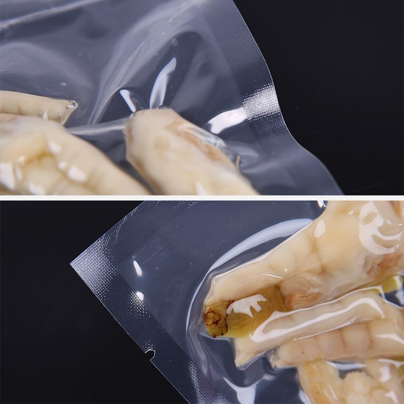真空袋食品袋热封保鲜袋抽气袋压缩袋小包装尼龙塑料袋透明包装袋