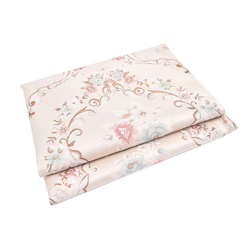 厂家直销加厚提花沙发套布料仿真丝面料布匹靠垫抱枕坐垫套餐椅布