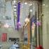 黄金珠宝店装饰道具布置吊饰橱窗化妆品店内装饰品创意挂件顶装饰