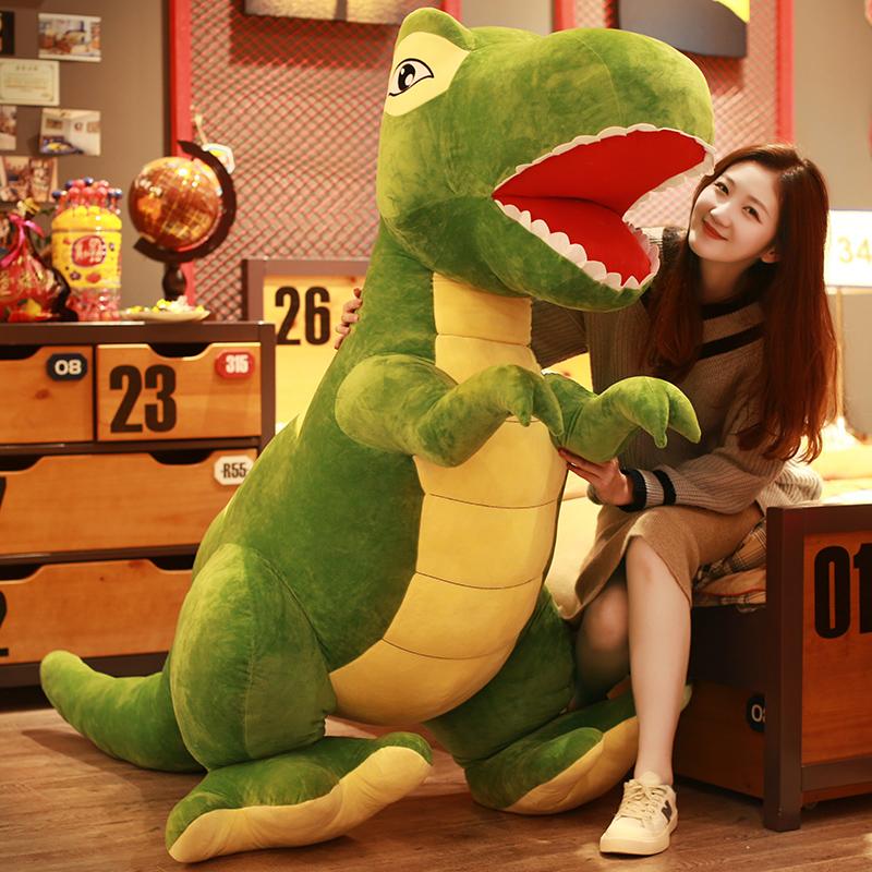霸王龙恐龙公仔毛绒玩具玩偶娃娃床上睡觉抱枕儿童节礼物可爱女孩