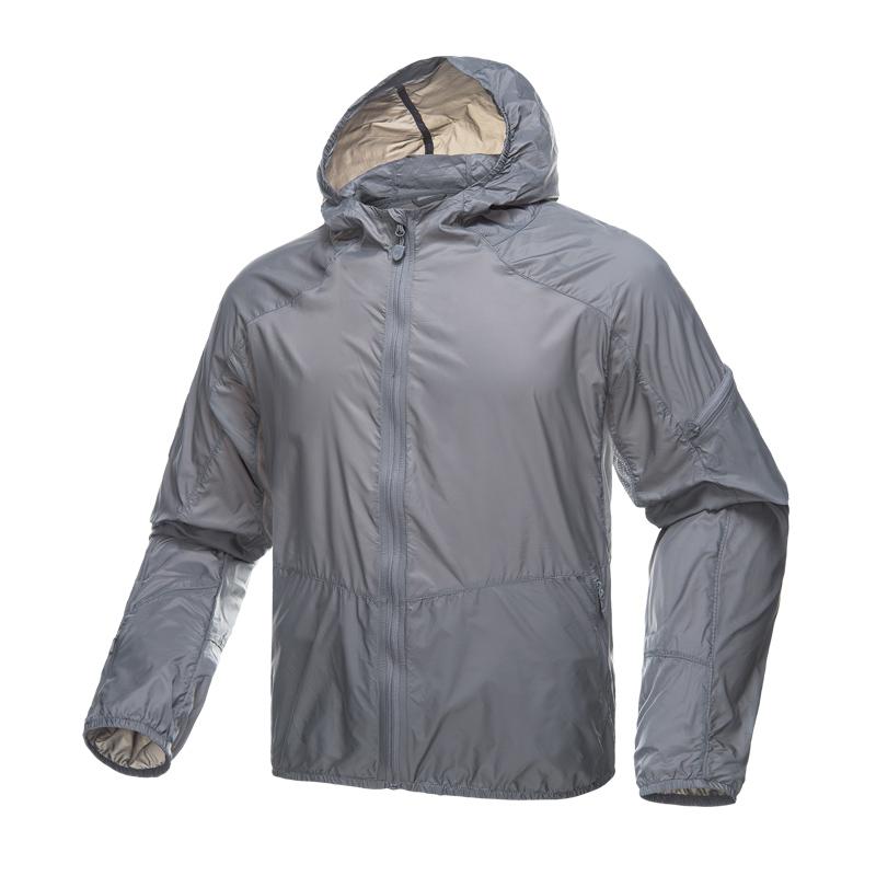 自由兵户外防晒服衫夏季防紫外线外套男女皮肤风衣超薄透气防晒衣