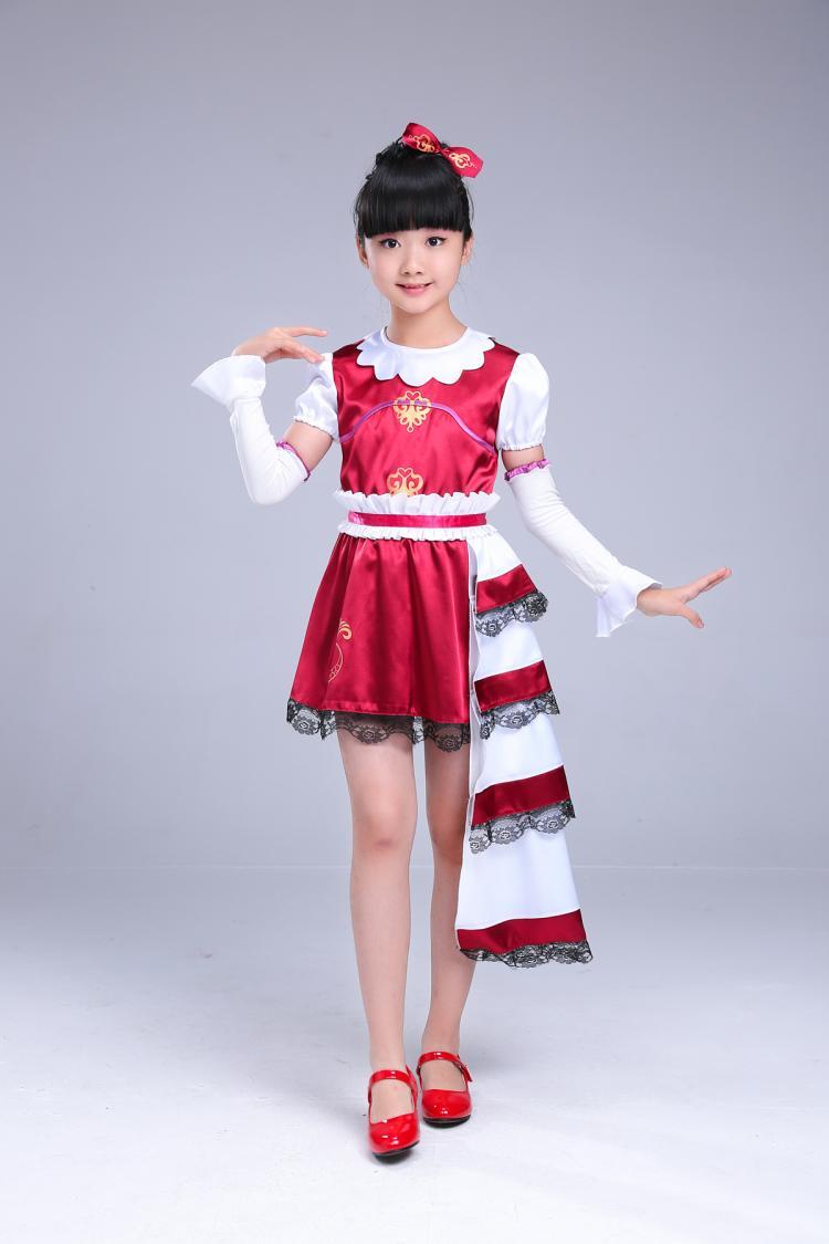 叶罗丽精灵梦菲林衣服齐娜服装塔罗牌儿童表演服公主服cosplay