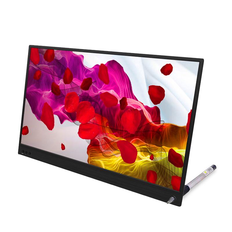 觸摸顯示屏 switch 超薄 15.6 電腦手機外接屏幕 hdmi 便攜式顯示器 ps4