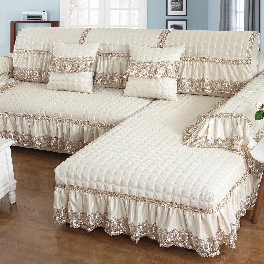 四季通用沙发垫布艺欧式皮简约现代防滑坐垫万能全包沙发套罩全盖