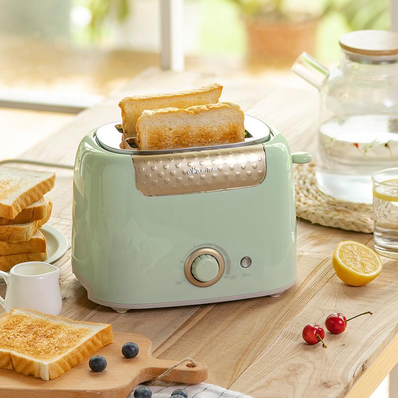 小熊烤面包机家用片多功能早餐机小型多士炉压加热全自动土吐司机 thumbnail