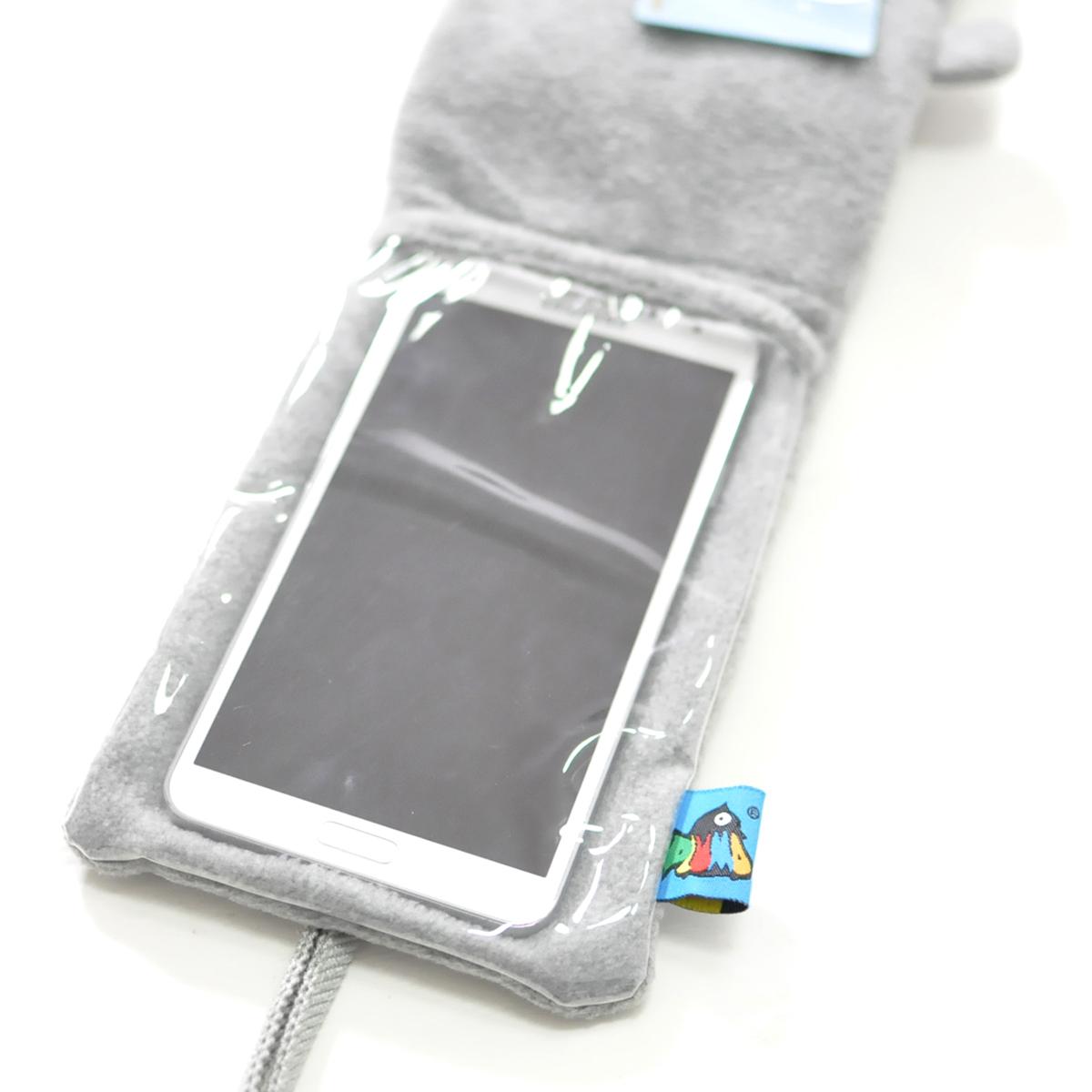 PLUMO三星苹果iPhoneplus挂脖触屏手机包套保护套 可爱手机包多款