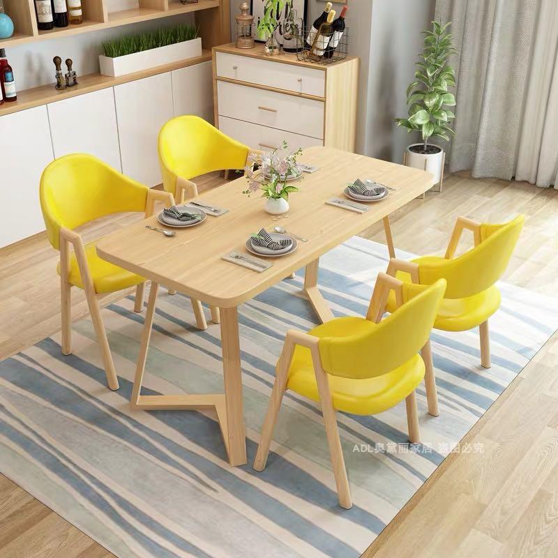 北欧接待桌椅组合个性休闲椅简约创意咖啡厅桌椅洽谈桌椅餐桌椅