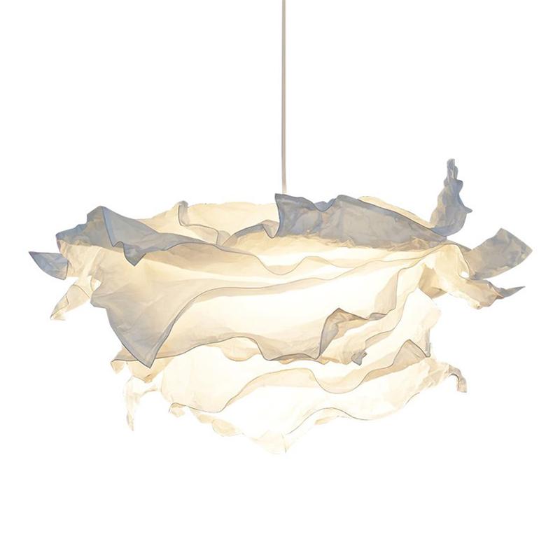 宜家国内代购克鲁宁吊灯罩个姓创意卧室餐厅纸质北欧装饰云朵吊灯