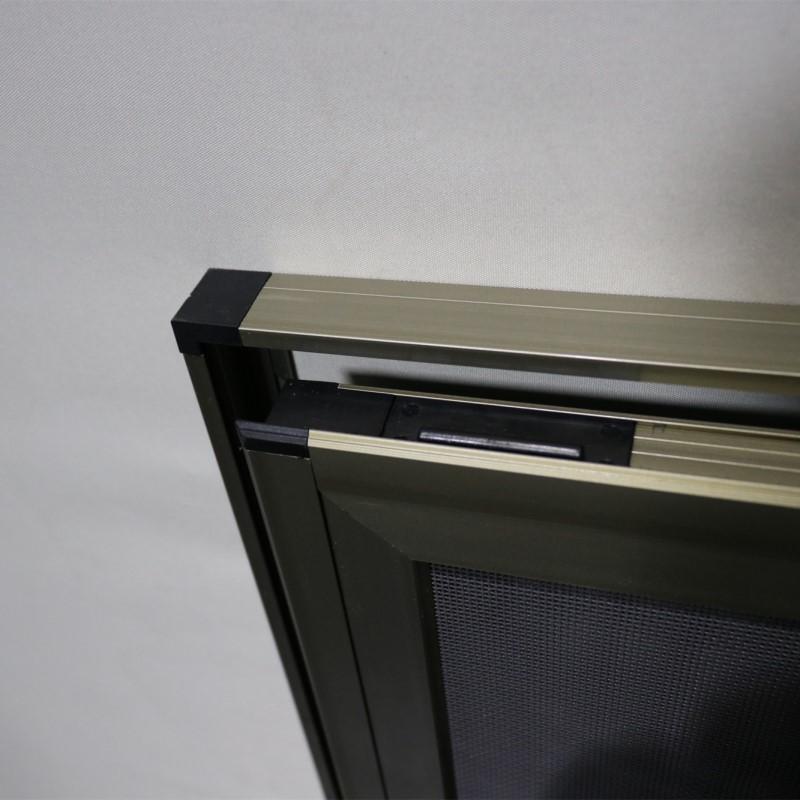 雅强 新款易拆洗框中框金刚网纱窗 三趟式纱窗 同城上门测量安装