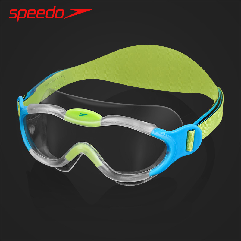 speedo兒童泳鏡 2-6歲男女童大框防水防霧舒適小孩寶寶游泳眼鏡