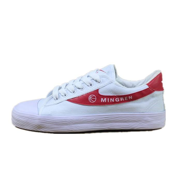 包郵雙星籃球鞋老款帆布鞋男鞋女鞋白幫紅底籃球訓練鞋雙星運動鞋