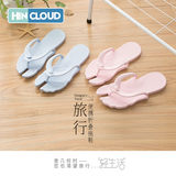 Travel Essentials portable folding travel slippers non-slip sandals seaside resort male outdoor swimming slippers sandals