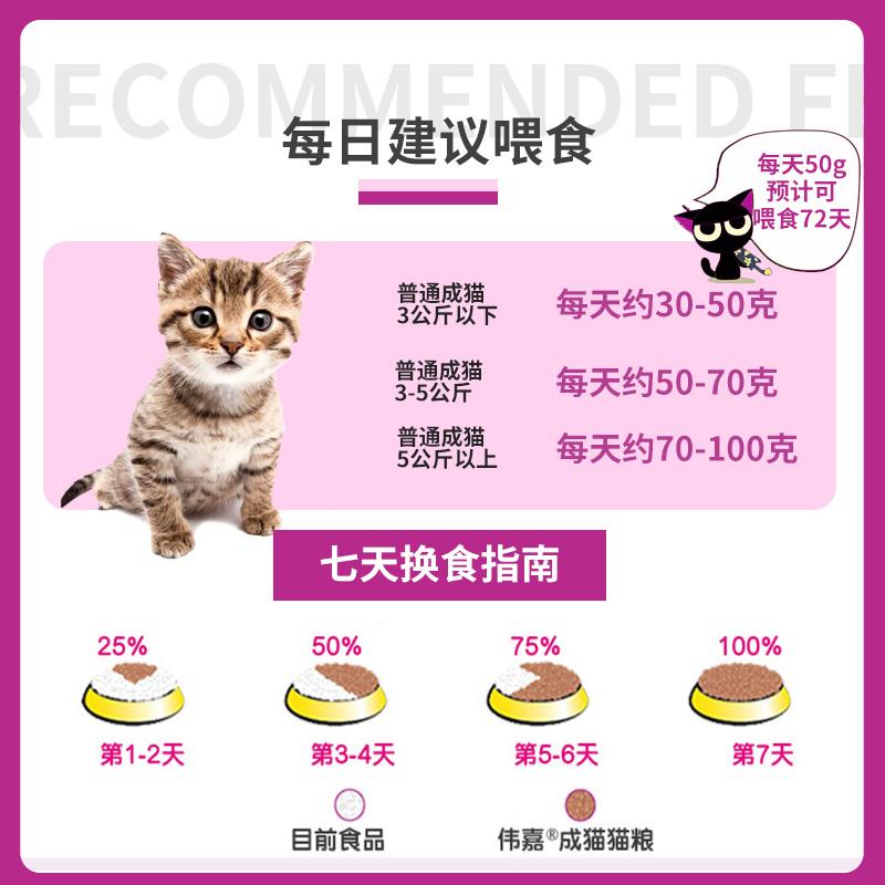 伟嘉成猫猫粮3.6kg三文鱼味蓝猫专用成年英短维嘉猫咪非20斤10优惠券