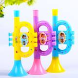 Children's small trumpet baby playing musical instrument flute whistle puzzle early education toy medium size girl boy