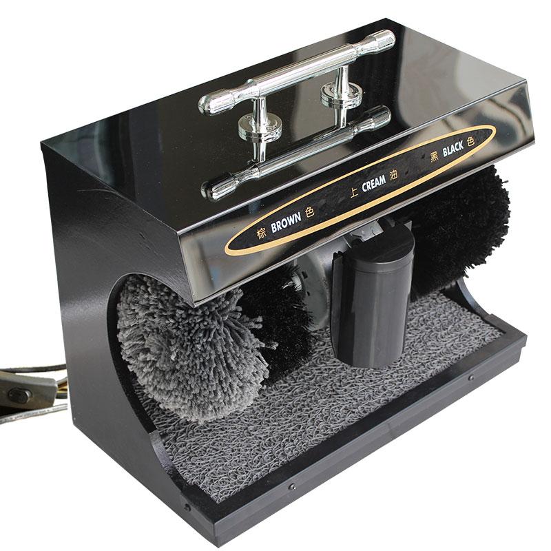 New point擦鞋机 全自动感应机 家用 自动擦鞋机 檫擦刷皮鞋机器
