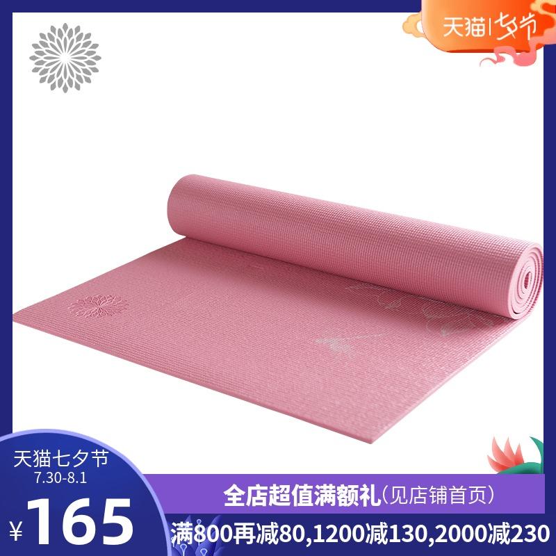 easyoga新品初學者中國風PVC瑜伽墊加厚運動健身墊瑜珈墊