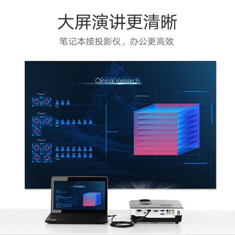 绿联micro hdmi转hdmi线手机平板相机树莓派连接电视笔记本电脑投影仪微型头转接4K3d高清视频投屏同屏转换器