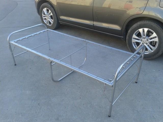 鋼絲床彈簧床軟床單人床午休床醫院陪護摺疊床簡易床加固雙絲鐵床