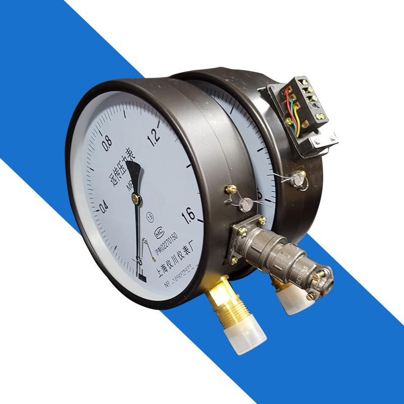 上海仪川仪表厂电阻接线远传压力表接电水泵YTZ150远程控制1.6mpa