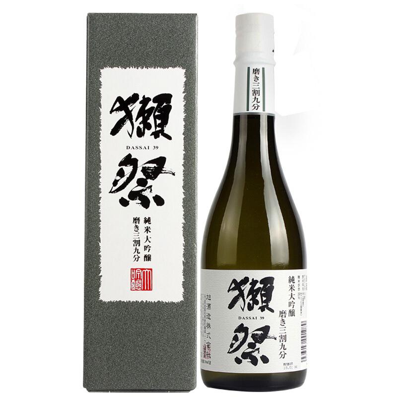 720ml 日本原装进口洋酒米酒 獭祭 日式清酒纯米大吟酿三割九分 39
