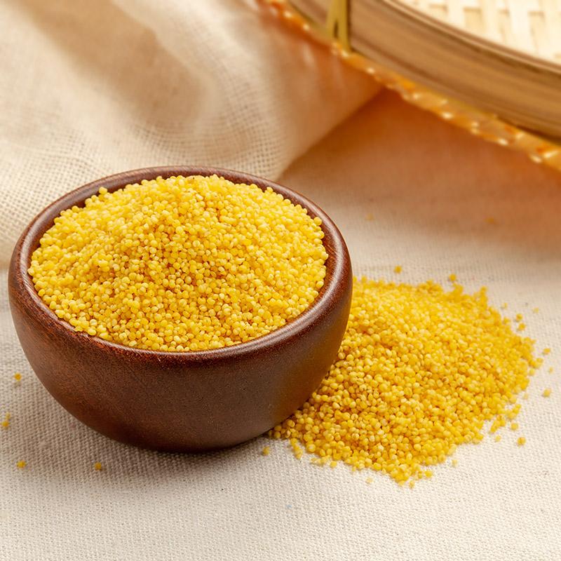 南稻北麦黄小米2kg罐装小米五谷杂粮东北粗粮月子米黑米食用