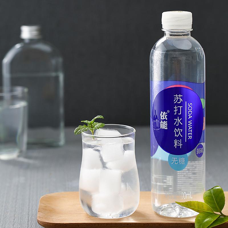 猫超次日达,0糖0脂0卡:500mlx24瓶 依能 加锌弱碱性苏打水
