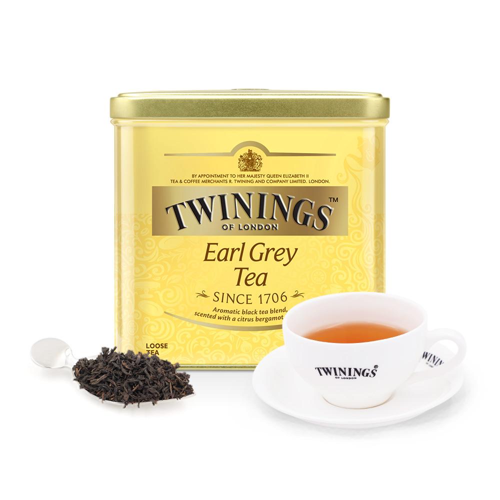 罐散茶铁罐装茶叶 500g 川宁英国进口红茶豪门伯爵红茶 Twinings