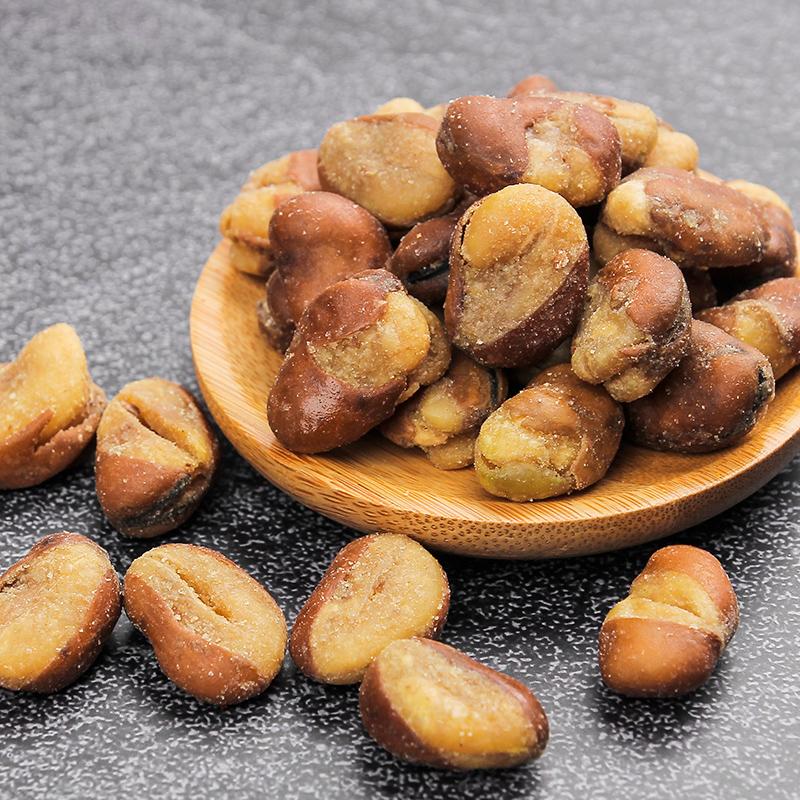 蚕豆休闲食品办公室零食小吃女生 63g 扇玄哥坚果炒货五香味兰花豆