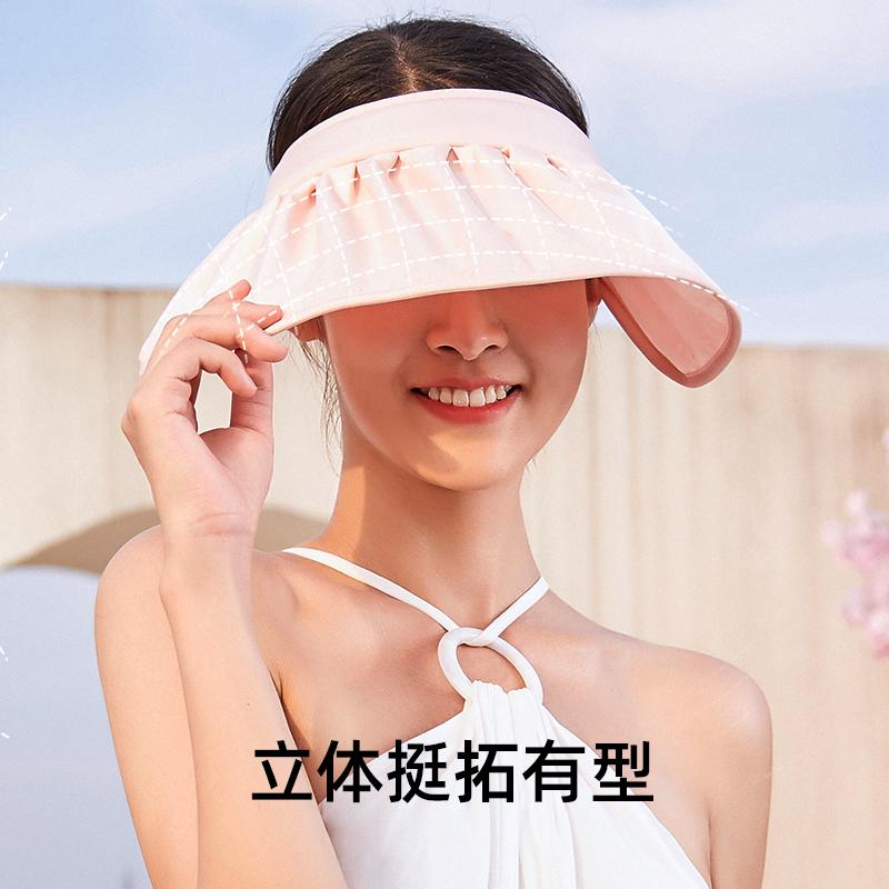 VVC防紫外线遮阳帽户外贝壳帽