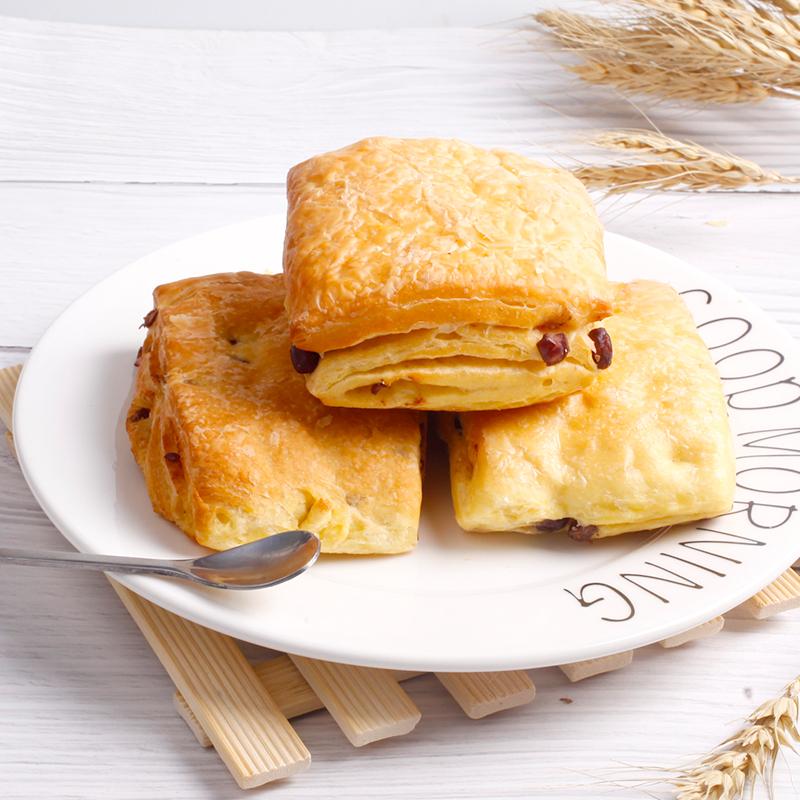 优尚优品红豆口袋夹心面包500g营养早餐蛋糕糕点代餐整箱礼盒零食