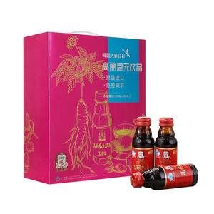 正官庄高丽人参元保健饮品100ml*20瓶礼盒装韩国原装进口提高免疫
