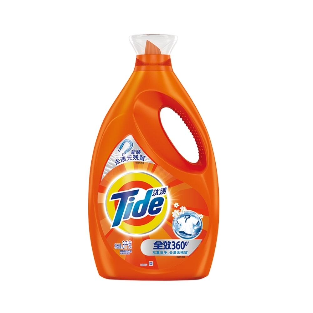 聚划算百亿补贴:Tide 汰渍 全效洗衣液 3KG26.8元包邮