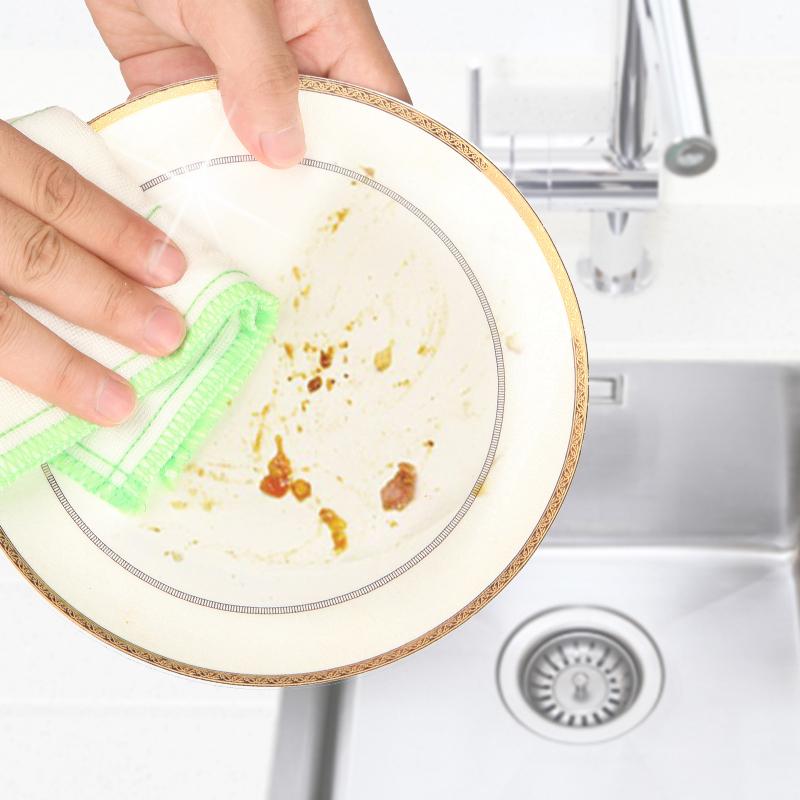 妙洁抹布吸水加厚洗碗百洁布厨房家务清洁巾洗碗巾