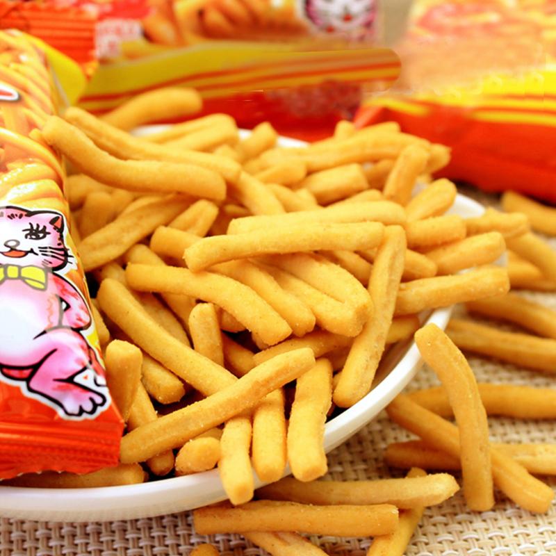 包懷舊好吃膨化零食大禮包網紅零食小吃 20 18g 愛尚咪咪蝦條