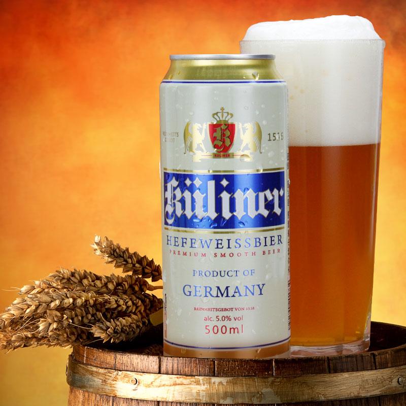 麦芽酿造 箱 24 500mL 古立特德国原装进口小麦啤酒