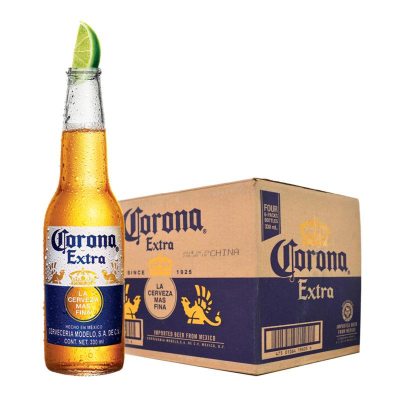 瓶整箱 24 330ml 科罗娜啤酒墨西哥原装进口 Corona