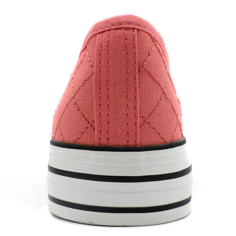 松糕厚底鞋乐福鞋 回力帆布鞋女鞋休闲鞋增高平跟小白鞋 Warrior