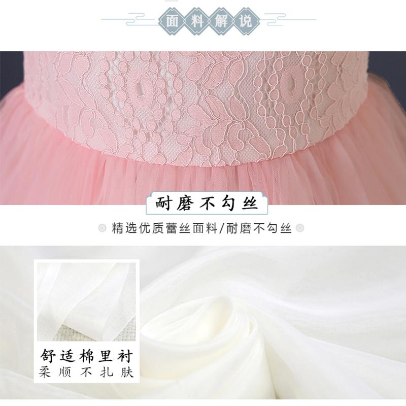 儿童旗袍2019新款小女孩连衣裙夏装裙子中大童装中国风女童公主裙