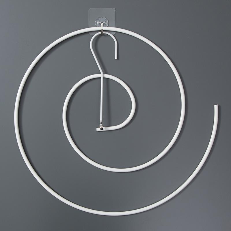 螺旋式晒被子创意家用晾衣架阳台凉圆形蜗牛旋转式床单多功能神器